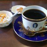 岡崎市こうひい庵にあるウェッジウッドのカップ&ソーサー・1