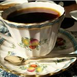 スポード(Spode)のカップ&ソーサー・1、岡崎市明大寺町のこうひい庵