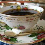 エインズレイのカップ&ソーサー・1、岡崎市明大寺町のこうひい庵