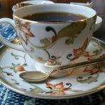 ウェッジウッドのカップ&ソーサー・9、岡崎市明大寺町のこうひい庵