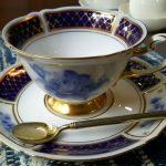 大倉陶園のカップ&ソーサー・1
